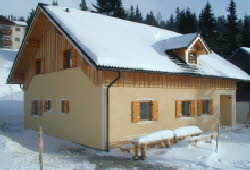 Winter Lachtal Haus